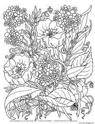 Thaneeya mcardle runs the website art is fun, comprising a number of printable coloring book pages. Secret Garden Coloring Pages Coloring Home