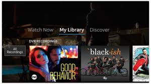 Black strip on directv screen