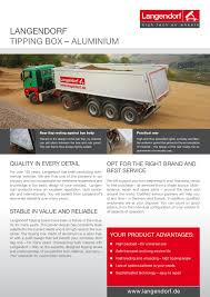 Tipping Box Trailer Designs Aluminium Tipping Box Pages 1 2 Text Version Pubhtml5