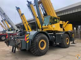 2007 Grove Rt890e 90 Ton Rough Terrain Crane Crane For Sale
