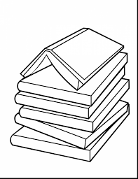 stack drawing at getdrawings free for bibliography clipart stacks book