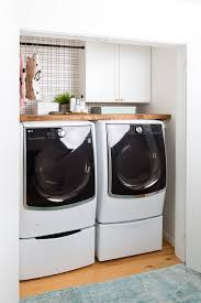 laundry room furniture. Big Reveal: Before \u0026 After Of Our Laundry Room Makeover + 2 Minute DIY Dryer Furniture A