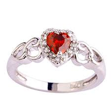 Psiroy <b>925 Sterling Silver Heart</b> Shaped Created Pink Topaz Filled ...