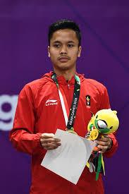 Lihat ide lainnya tentang atlet, badminton, olahraga. Anthony Sinisuka Ginting Zimbio