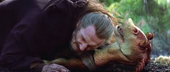 Image result for jar jar qui gon