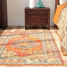 orange and brown area rug contemporary orange area rug with regard to reviews remodel 1 pleasant orange and brown area rug