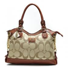 Coach Legacy Pinnacle Lowell In Signature Large Khaki Satchels ADW