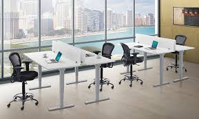computer tables for office. Outstanding Computer Desk Best Standing Office With Adjustable Intended For Stand Up Modern Tables S