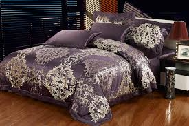 image of silky comforter sets