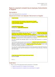 Complaint Letter Model Letter Of Intent Employment Sample Bank