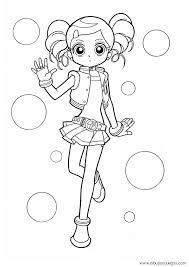Powerpuff Girls Z 006 Dibujos Y Juegos Para Pintar Sketch Coloring Page