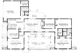 3 Bedrooms  17012250 Square Feet2200 Square Foot House Plans