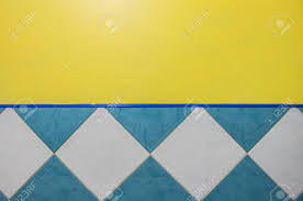 blue tile texture. Simple Texture Banque Du0027images  Yellow Wall And Blue Tile Texture Abstract Background  With Copy Space With Tile Texture E