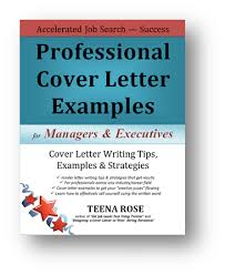 download professional cover letter examples for managers executives cover letter book