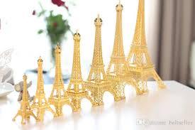 eiffel tower size 2018 romantic gold paris eiffel tower model alloy eiffel tower metal