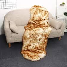 senarai harga luxury long wool extra large sheepskin rugs genuine natural fur rug from 100