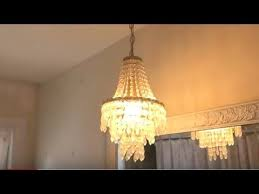 how to remove chandelier light fixture safe fast easy