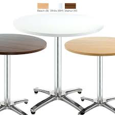 round cafe table bistro tables in beech white walnut coffee ikea black