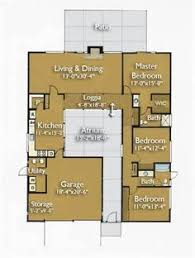 Atrium house  Dream house plans and House on Pinterest