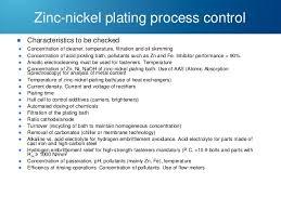 Plating Process Flow Chart Zinc And Zinc Alloy Plating