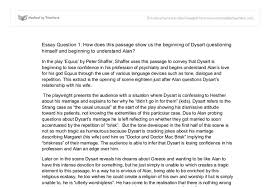 equus essay in the play equus by peter shaffer shaffer uses this  document image preview