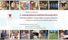 5 sreČanje kulturne dediŠČine slovenije 2018 pmpo si more information