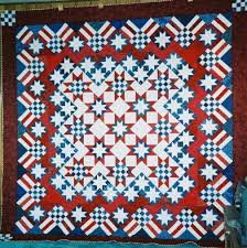 Stars 'n' Stripes Forever quilt made by Doris Coffey from the ... & Stars 'n' Stripes Forever quilt made by Doris Coffey from the pattern in  Knockout Adamdwight.com