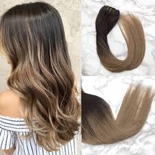 Dark Brown Hair Light Brown Balayage