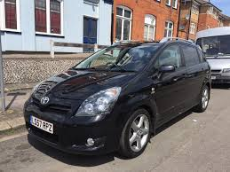 7 SEATER, 2007 TOYOTA COROLLA VERSO T180 D2-D, Diesel 73000 MILES ...
