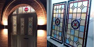 victorian style stained glass windows