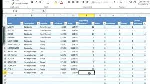 inventory control spreadsheet template excel inventory management template govtjobrockers club