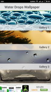 Water Drops Wallpaper for Android - APK ...