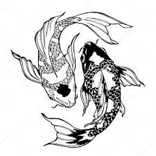 ᐈ японские рыбы векторные изображения рисунок рыба Koi скачать