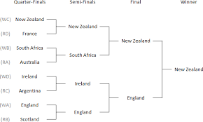 2015 Rugby World Cup Results Chart 2015 Rugby World Cup Outcome Probabilities