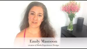 Online Birth Plan Creator Birth Experience Design Online Program Emily Masnoon
