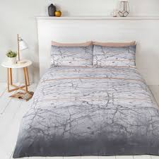 marble duvet cover set bedding grey white rose gold single double marble bedroom furniture marble bedroom furniture sets