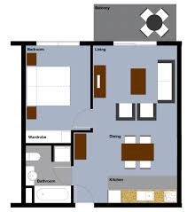 Small One Bedroom Apartment Floor Plans Apartment Architecture Pdf For Studio Floor Plans And Small Design