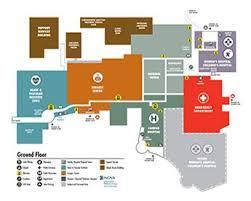 Inova Fairfax Hospital Medical Campus Ground Floor Plan