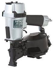 hitachi air nailer. hitachi roundhead roofing pneumatic air nailer roof gun tool lightweight durable h
