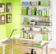 how to organize home office. how to organize a home office with wall shelves ideas and desk organization
