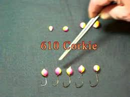 Corkie And Hook Sizes