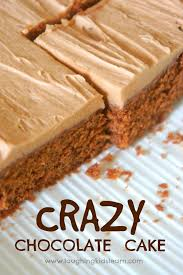 Super Simple Crazy Chocolate Cake You Can Bake With Kids Laughing