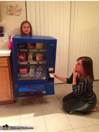 Female Vending Machine Stunning Creative Homemade Vending Machine Costume
