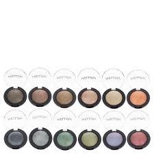 mellow cosmetics baked eyeshadow various shades