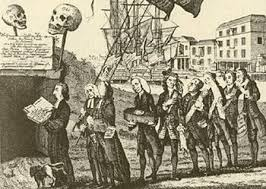 「where opponents of the Stamp Act, calling themselves the Sons of Liberty, enlisted the rabble of Boston in opposition to the new law.」の画像検索結果