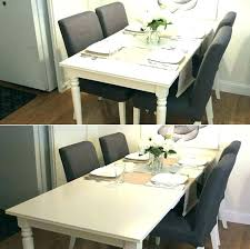 ikea glass dining table canada extendable room tables white sets tab