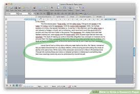 how to write a research paper sample research papers  image titled write a research paper step 7