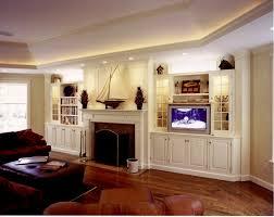 Living Room Delightful Custom Cabinets For Living Room Modern