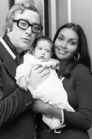 young michael caine wife. Perfect Michael Sir Michael Caine With Shakira And His Daughter Natasha In 1973 Intended Young Wife