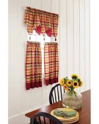 better homes and gardens valances. Brilliant Gardens Better Homes U0026 Gardens Red Check Valances Throughout And Y
